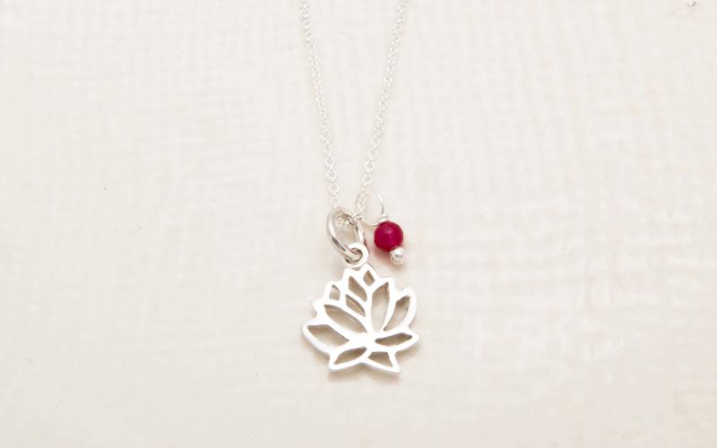 flor de loto silueta 2